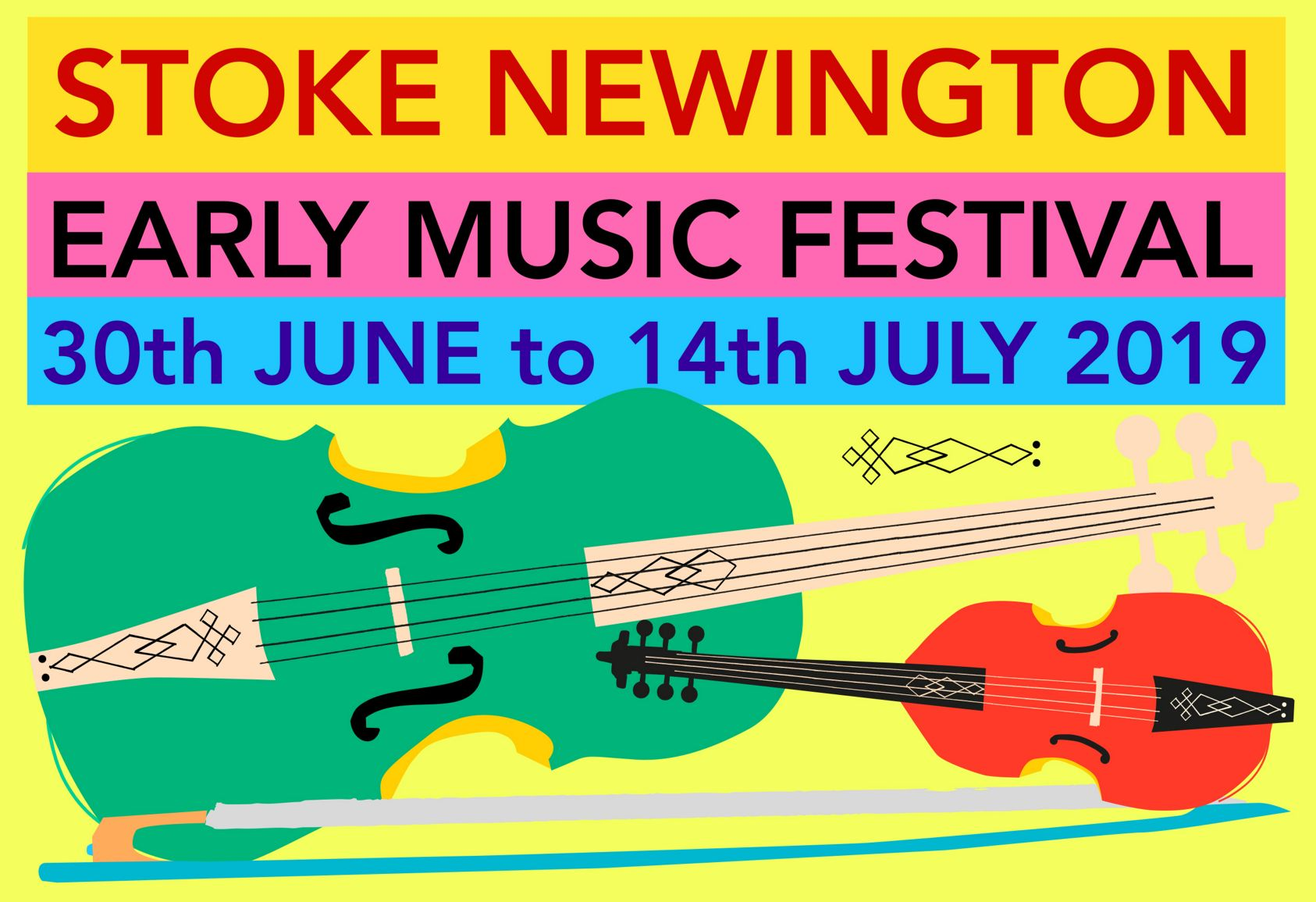 Stoke Newington Early Music Festival 2019